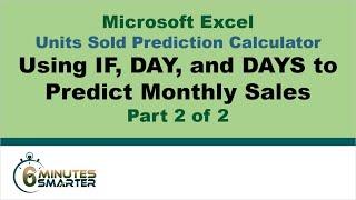 Units Sold Prediction Calculator - Part 2 of 2