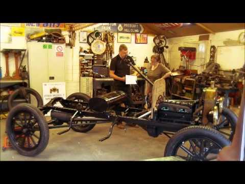 Tudor Wheels Ford Model T Restoration Agatha Ambulance built by Richard Skinner