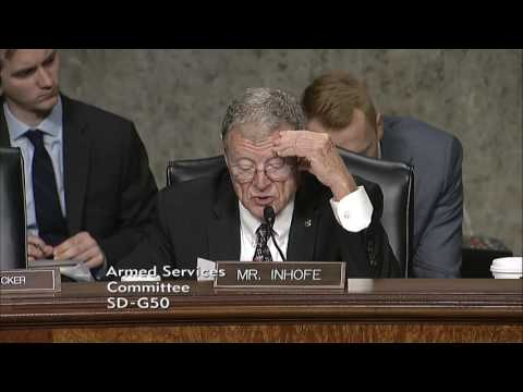 Inhofe Q&A at SASC Southern Command and Northern Command Hearing