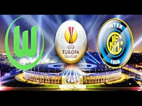 Wolfsburg vs Fc Internazionale 3-1 12/03/2015 highlights Europa League fifa 15 gameplay ps4