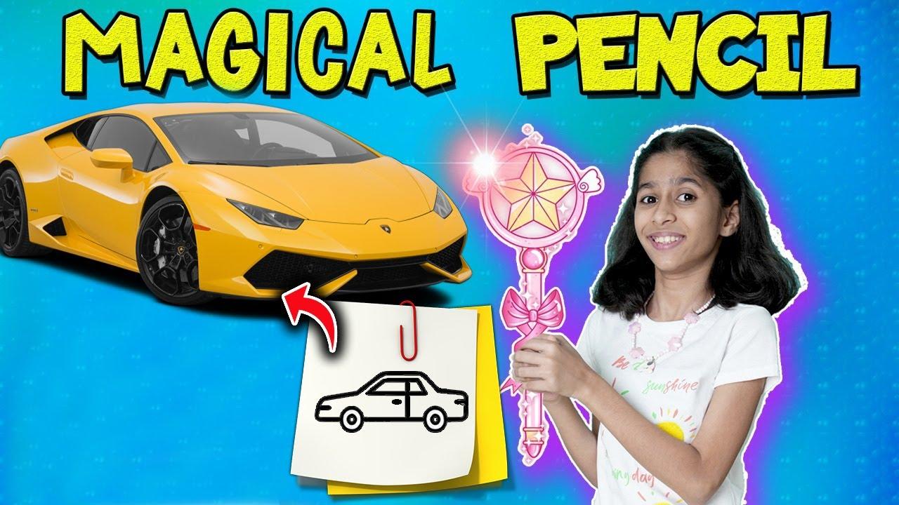 Pari Ko Mil Gayi Magical Pencil  | Pari's Lifestyle