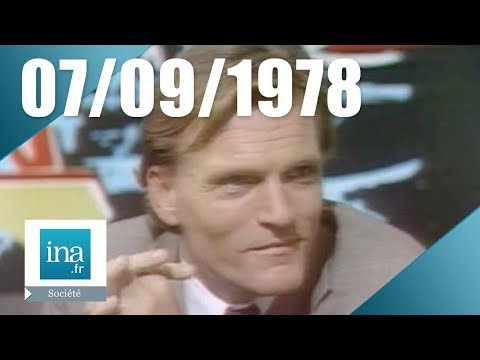 20h Antenne 2 du 07 septembre 1978 - Le baron Empain - Archive INA