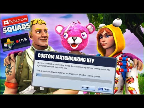 matchmaking private fortnite
