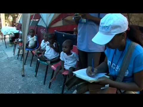 UNICEF: Progress in Haiti