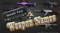 CS:GO Weapon Names