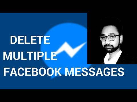 How To Delete Multiple OR All Facebook Messages Quickly
