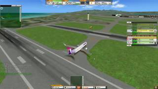 我是航空管制官3 檀香山國際機場 ATC3 Honolulu International Airport Stage 1 Gameplay