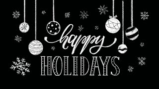 How to Draw Happy Holidays Write Lettering