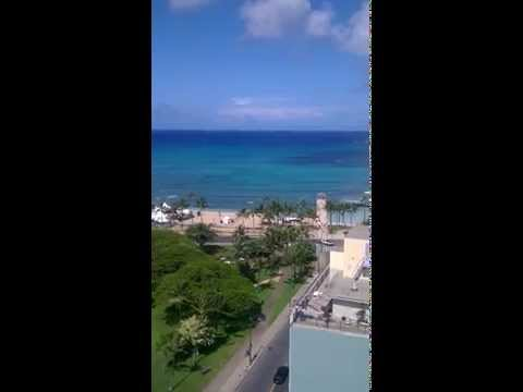 View from Queen Kapiolani Hotel, Waikiki