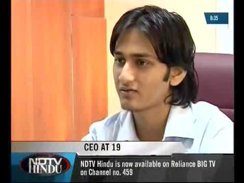 CEO@17 - Ashwin Ramesh - NDTV HINDU NIGHT VISION