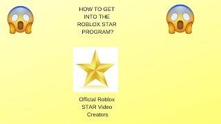 WIE IN DAS ROBLOX Star Programm(Roblox) GET INTO