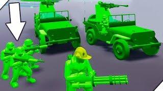 НОВЫЕ СОЛДАТКИ - Attack on Toys. История игрушек в комнате. Мультики про игрушки