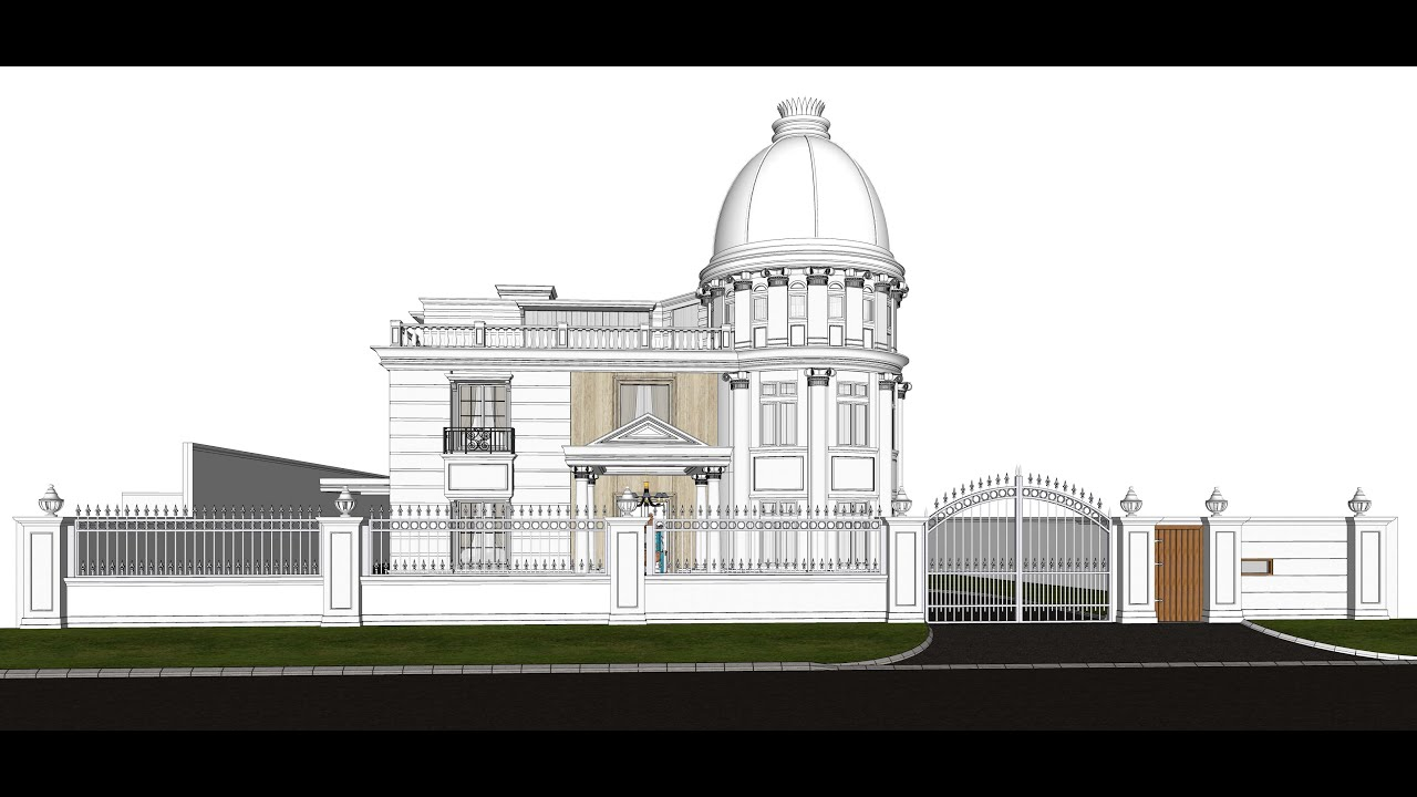 House Design 7 Part 1, Modeling With Sketchup Pro 2018