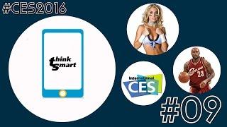 Think Smart #09 - Главные новости #CES2016 - Sony Xperia, BMW i8 Spyder, Samsung Gear VR и Порно VR