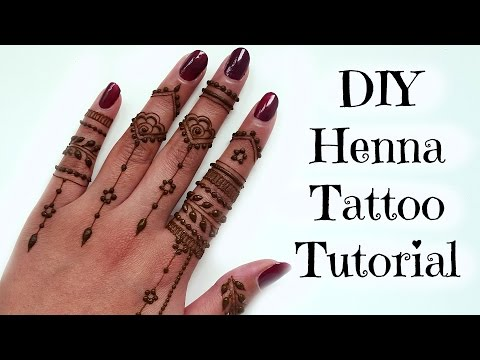 Diy Easy Henna Tattoo Tutorial