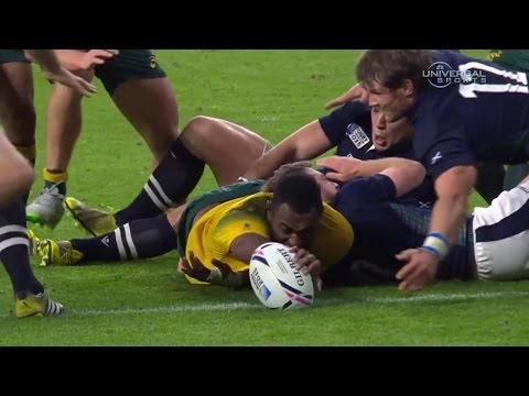Australia stuns Scotland in Rugby World Cup - Universal Sports