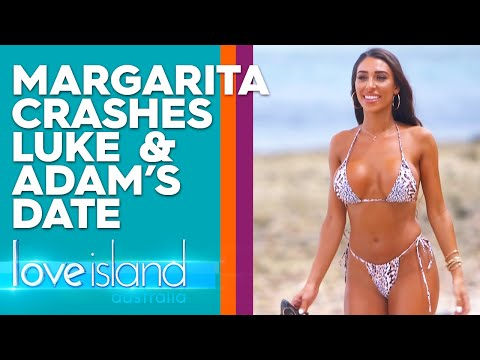 Margarita Crashes Luke And Adam's Fishing Trip | Love Island Australia 2019