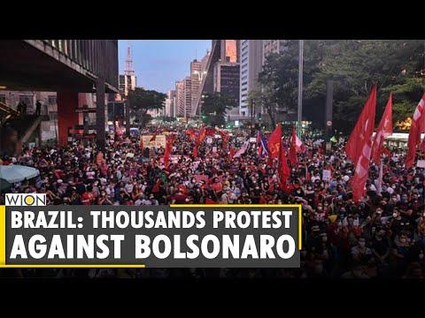 Brazil: Thousands protest against President Bolsonaro's COVID response   Latest World English News