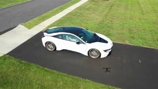 DJI Mavic 2 APAS Demo following a BMW i8