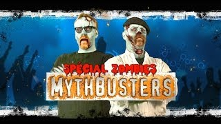 Adam Savage s'attaque aux zombies : Mythbusters