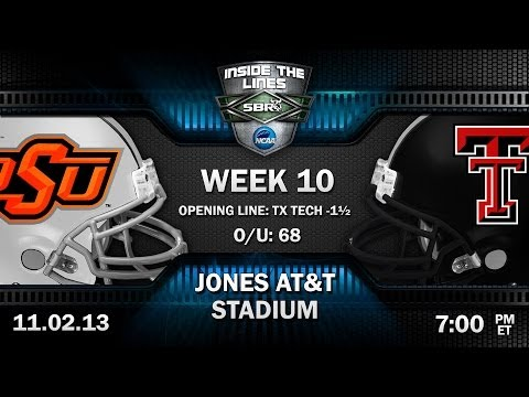 Oklahoma St Cowboys Vs Texas Tech Red Raiders Preview: Big 12 College Football Picks W Troy West
