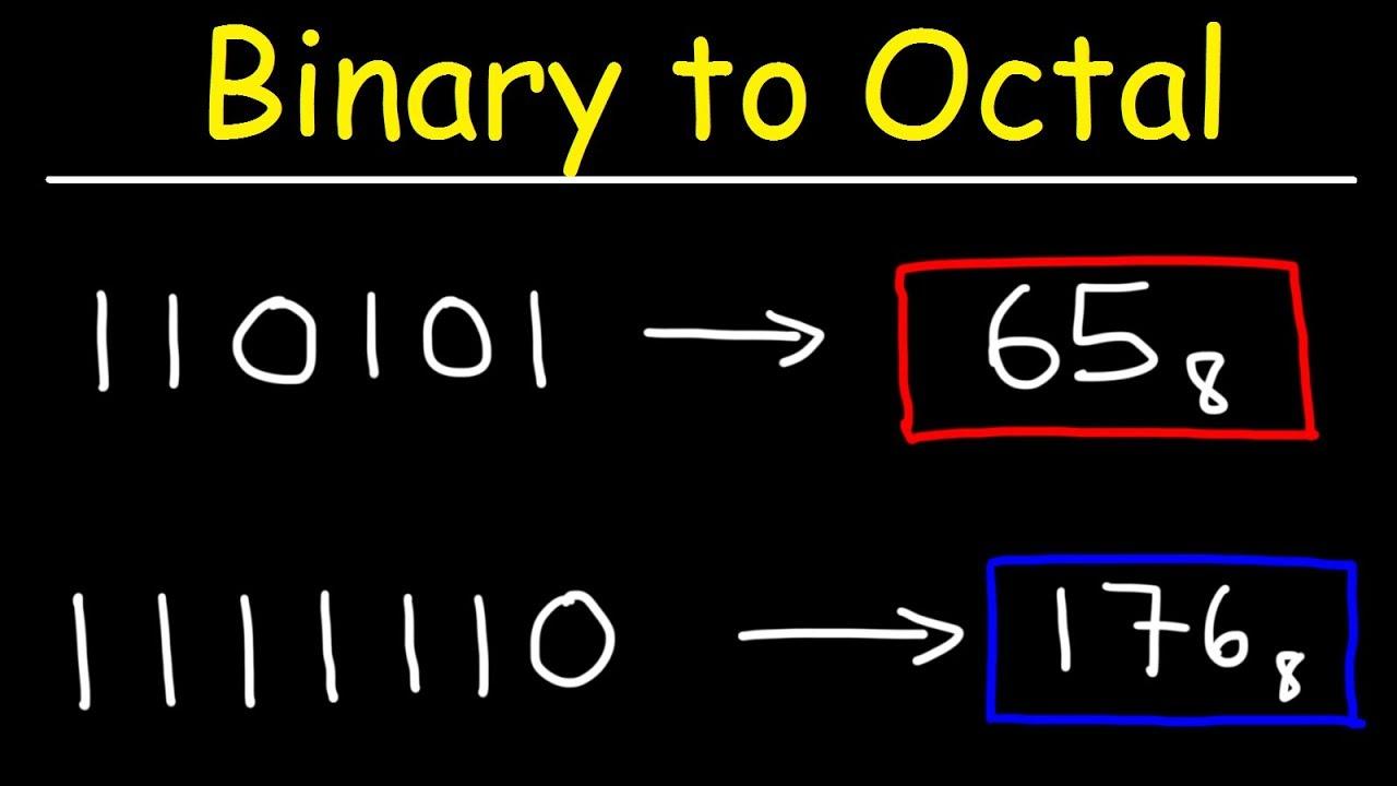 cum se scriu binare