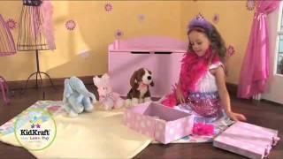 Kidkraft Austin Toy Box Pink Mambokids