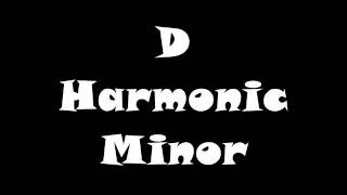 D Harmonic Minor Scale - Groovy Jam Track (Free mp3!)