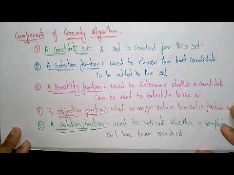 greedy algorithm example | DAA |