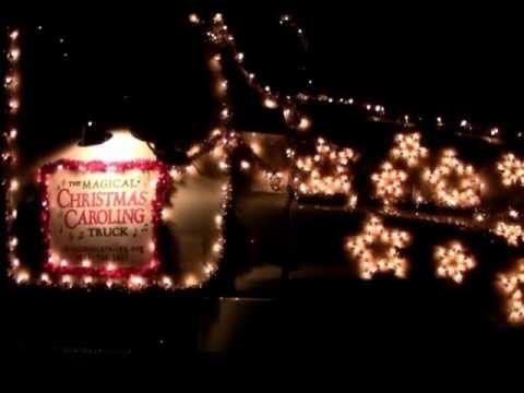 Christmas Caroling Truck