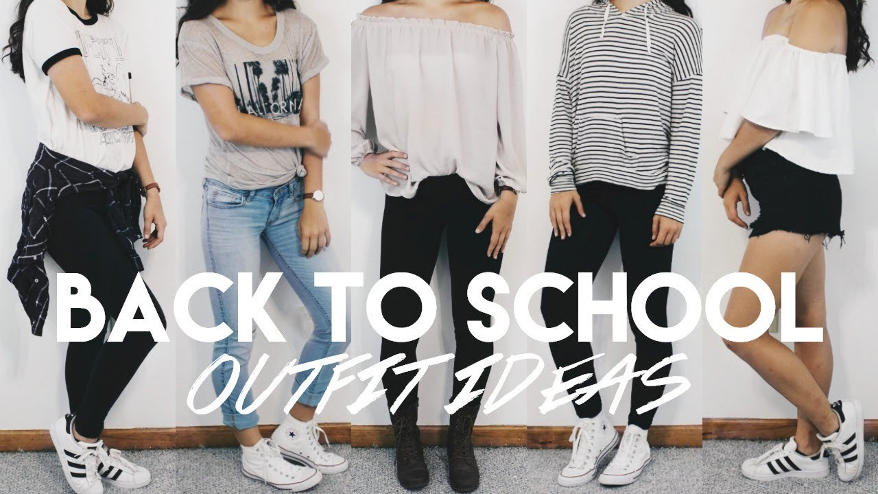 BACK TO SCHOOL TUMBLR INSPIRED OUTFIT IDEAS 2017-18