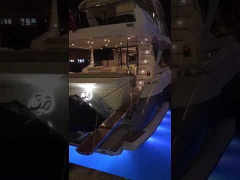 Our Astel Lights shinning in Atlantis Marina , Nassau