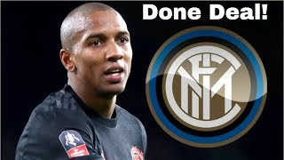 Ashley Young to Inter Milan CONFIRMED