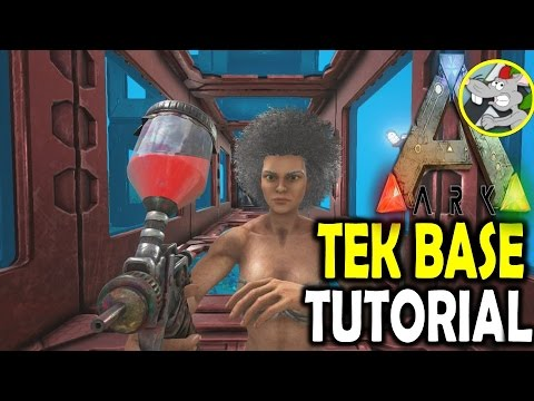 ARK HOW TO BUILD A TEK TIER UNDERWATER BASE - FIRST LOOK