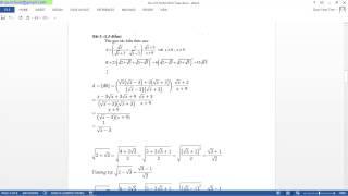2. Thủ thuật toán tuyển sinh 10 - Thử lại đáp án bằng máy tính cơ bản