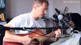 Разбор песни, снятие партии на гитаре, запись голоса