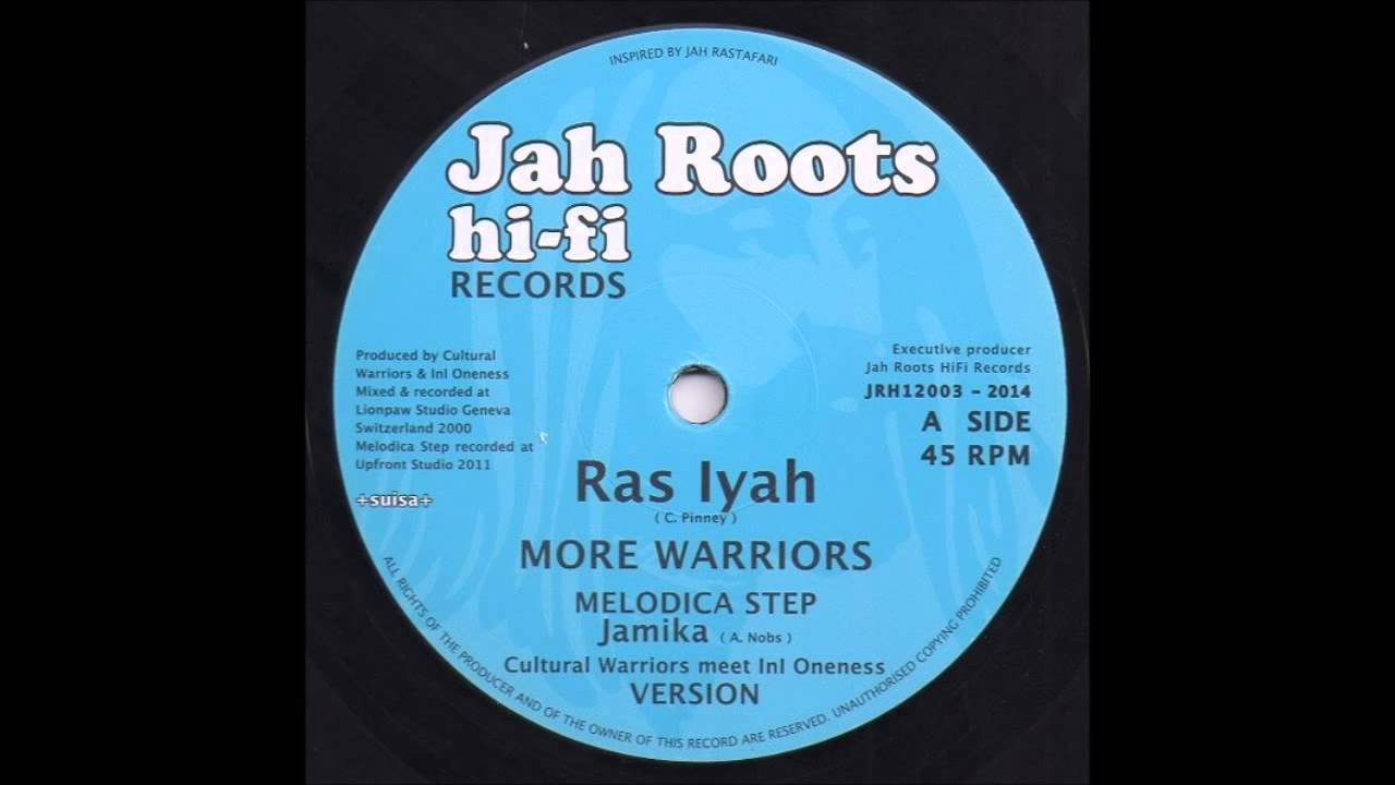 Ras Iyah - More Warriors / Give Thanks