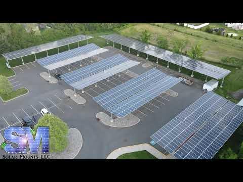 Solar Mounts LLC - Vineland Carports - 495 kW