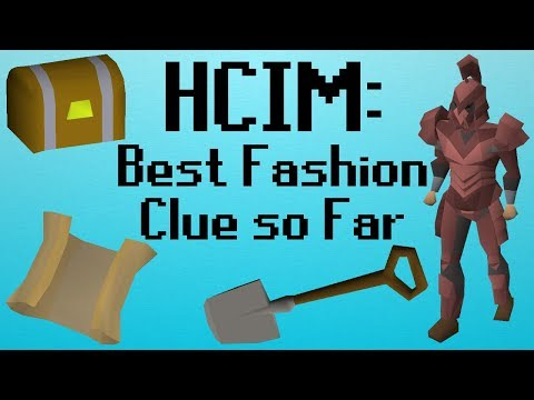 [OSRS] HCIM 103: Best Fashion Clue so Far (1838/2277)