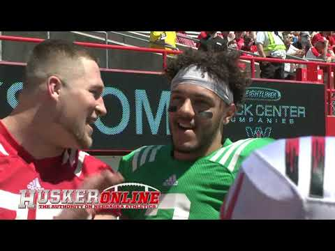 HOL HD: 2021 Nebraska Red-White Spring Game Sights & Sounds