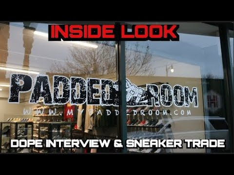 THE HOTTEST SNEAKER SHOP IN CHICAGO?!   INSIDE THE PADDED ROOM