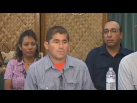 El Salvador castaway press conference: Jose Salvador Alvarenga anxious to return home