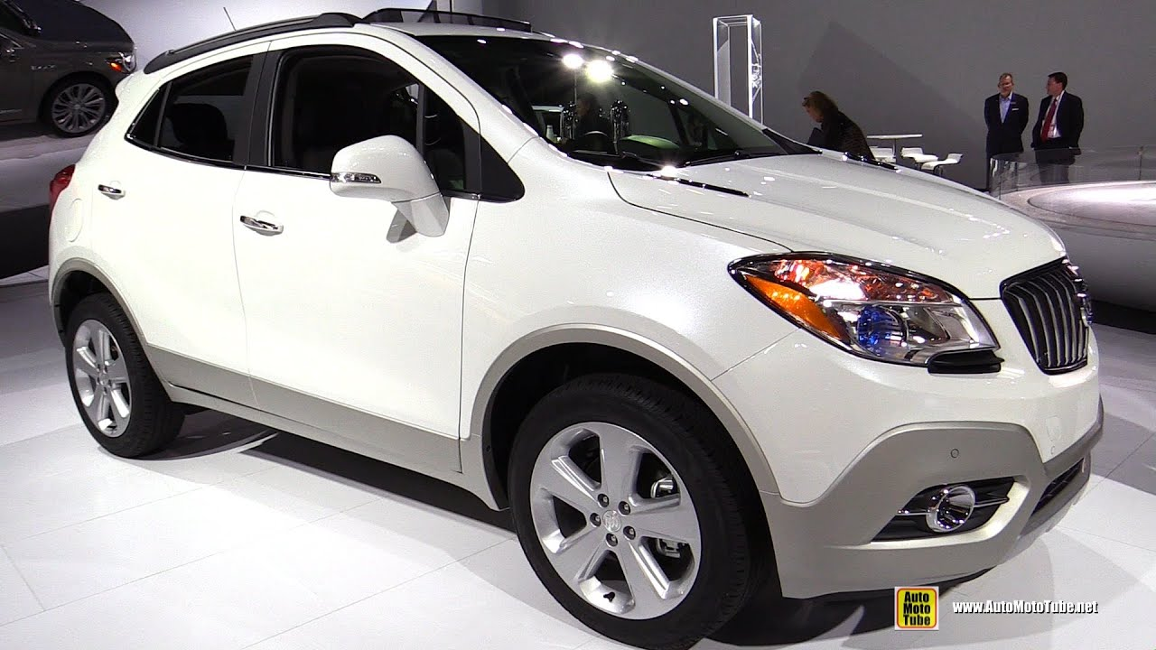 2016 Buick Encore   Exterior And Interior Walkaround   2016 Detroit Auto  Show   YouTube