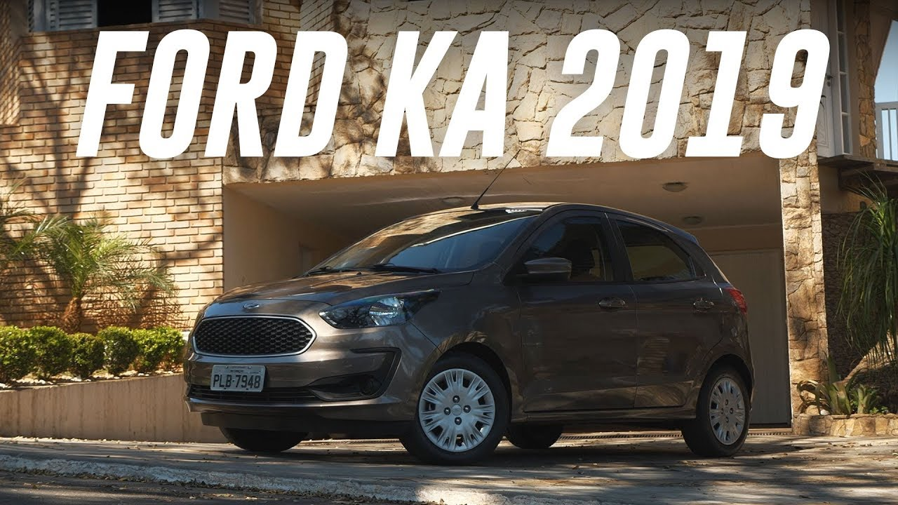 Teste Ford Ka 2019 Webmotors Youtube