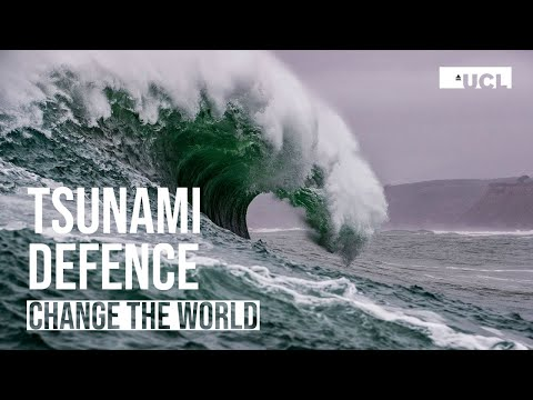 UCL Engineering - Tsunami defence