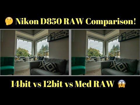 Is Nikon D850's Medium RAW any good? 14bit vs 12bit RAW Image Review and Comparison PART 1