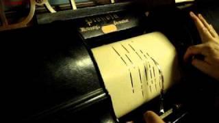 Wagner: The Flying Dutchman (Der fliegende Holländer) --Overture. piano roll arrangement