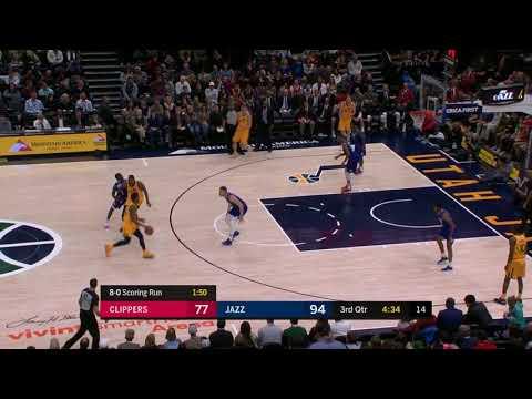Lou Williams 10 steals vs Utah Jazz 1-20-18