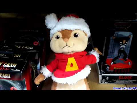 Alvin the Chipmunk plush singing dancing toy Christmas 2011