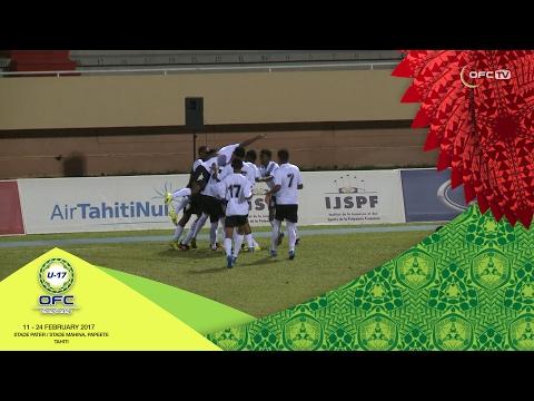 2017 OFC U-17 CHAMPIONSHIP | MD2 Fiji v Solomon Islands Highlights